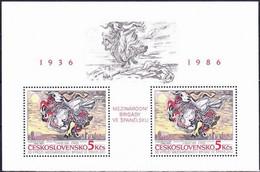 ** Tchécoslovaquie 1986 Mi 2880 - Bl.68 (Yv BF 72), (MNH) - Nuevos