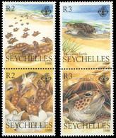 Seychelles 1988 Turtles MNH - Turtles