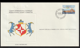 Switzerland 1984 FDC IOC 90th Anniversary (LG26) - Other