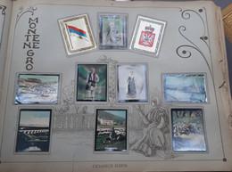 MONTENEGRO 10 PHOTOS ORIGINALES SUR LE PAYS ET L'HISTOIRE ROI NICOLAS DRAPEAUX VUES DE VILLES PAYSAGES COUTUMES 7 X 5 CM - Montenegro