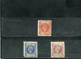 Cuba 1898 Yt 106-107 112 * - Cuba (1874-1898)