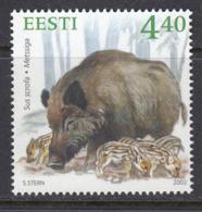 Estland 2002.  Estonian Wildlife. MNH. Pf. - Estonia