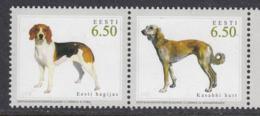 Estland 2005.Hunting Dogs. Paare.MNH. Pf. - Estonia