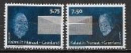 Groenland 2008 N° 484/485 Neufs Europa écriture D'une Lettre - 2008