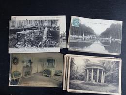Lot De 100 Cartes Postales Dépt 78 Yvelines Versailles (lot B) - 100 - 499 Postcards
