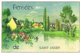 52 PENSEES  DE   SAINT  DIZIER      CPM  TBE  VR1134 - Saint Dizier