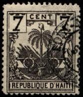 Haiti 1896 Mi 38 Coat Of Arms - Haití