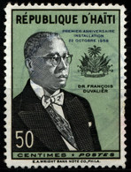 Haiti 1958 Mi 508 President Francois Duvalier - Haití