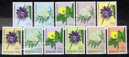 Haiti 1965 Mi 846-856 Haitian Flowers - MNH - Haití