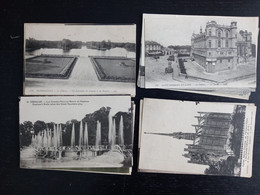 Lot De 100 Cartes Postales Dépt 78 Yvelines Versailles (lot A) - 100 - 499 Postcards