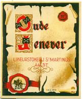 Oud Etiket Oude Jenever 30° - Likeurstokerij / Distillerie St Martinus Te Aalst - Other