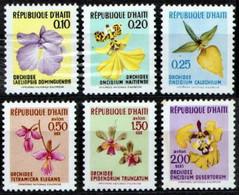 Haiti 1970 Mi 1104-1109 Orchids - MNH - Haití