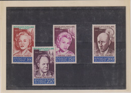 CONGO-CINEMA- TP PA-N° 108/111-XX-MNH--TT B - Collections