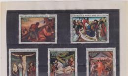 CONGO-TABLEAUX- LE CHRIST-TP-PA- N°112/116 XX-MNH - Collections