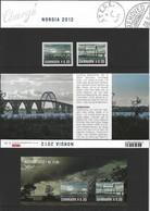 Danemark 2012 Expo Norida 1663/1664** & BF 48** - Ungebraucht