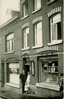 Stavelot, Belle Carte-photo, Magasin Tabac-Cigares Chez Tombeux, Place Prume - Stavelot