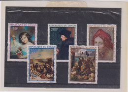 CONGO-TABLEAUX-PA- N° 90/94 XX MNH - Collections