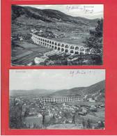 BOROVNICA 1919 Borovniški Viadukt LOT 2 CARTES EN TRES BON ETAT SLOVENIE - Slovenia