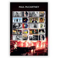 GREAT BRITAIN   2021  Sir Paul McCartney (Beatles)   Music   Collectorsheet !!       Postfris/mnh/neuf - Unused Stamps