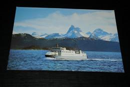 29029-     NORGE  NORWAY, LODINGFERGA PA TYSFJORDEN - Norvegia