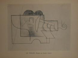 Picasso. Reproduction. 1938. Le Violon. - Estampes & Gravures