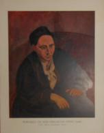 Picasso. Reproduction. 1938. Portrait De Miss Gertrude Stein. - Estampes & Gravures