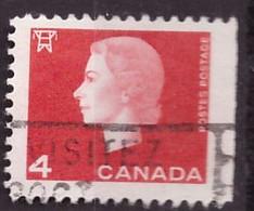 PIA - CANADA :1962-63 - Regina Elisabetta II° - (Yv  331 ???) - Used Stamps