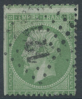 Lot N°61167   Variété/n°20, Oblit GC 1218 Crépy-en-Valois, Oise (58), Ind 3, Piquage - 1862 Napoleon III