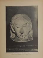 Picasso. Reproduction. 1938. Tête De Femme. Plâtre Original. - Estampes & Gravures
