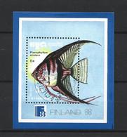 Kampuchea 1988 Fish S/S Y.T. BF 68 (0) - Kampuchea