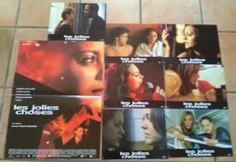 AFFICHE CINEMA FILM LES JOLIES CHOSES + 7 PHOTOS COTILLARD BUGSY BRUEL PAQUET-BRENNER 2001 - Posters