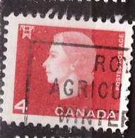 PIA - CANADA :1962-63 - Regina Elisabetta II° - (Yv  331 ) - Used Stamps