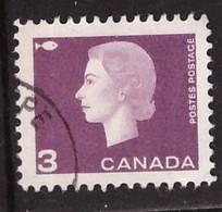 PIA - CANADA :1962-63 - Regina Elisabetta II° - (Yv  330 ) - Used Stamps