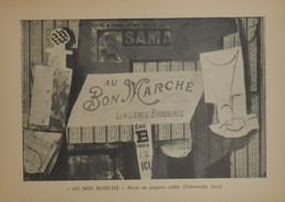 """Picasso. Reproduction. 1938. """"Au Bon Marché"""". - Estampes & Gravures"""
