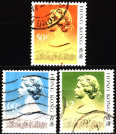 Hong Kong 1988 Mi 509II_517II Queen Elizabeth II (1) - Used Stamps