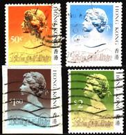 Hong Kong 1988 Mi 509II_517II Queen Elizabeth II (2) - Used Stamps