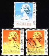 Hong Kong 1988 Mi 509II-510II Queen Elizabeth II - Used Stamps