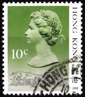 Hong Kong 1991 Mi 507V Queen Elizabeth II (1) - Used Stamps