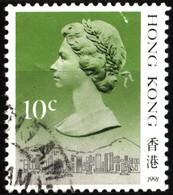 Hong Kong 1991 Mi 507V Queen Elizabeth II (12) - Used Stamps