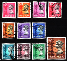 Hong Kong 1992 Mi 654_667 Queen Elizabeth II (1) - Used Stamps