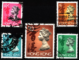 Hong Kong 1992 Mi 654_667 Queen Elizabeth II (4) - Used Stamps