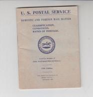 U.S.Postal Service-Viaggiata Italy Italia - Documents Historiques