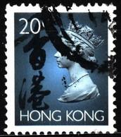 Hong Kong 1993 Mi 701 Queen Elizabeth II (1) - Used Stamps