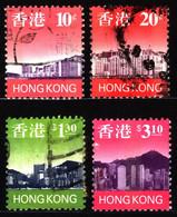 Hong Kong 1997 Mi 789_800 Skyline Of Hong Kong (1) - Used Stamps