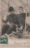 Somme : Amiens : Circuit De L'Est D'Aviation : Biplan Farman , Lieutemant Cammermann Et Colonel Picquar - Amiens