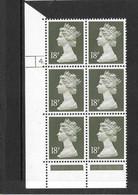 Gran Bretagna - 1984 Definitive  18p. Mi. 1003 - Blocco Di  6v. Nuovi** Perfetti - Unused Stamps