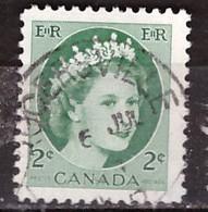 PIA - CANADA :1954 - Regina Elisabetta II° - (Yv  268 ) - Used Stamps