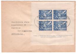 Nederland 1942 - Legioenblok Op Envelop Naar Duitsland - Feldpost Stempel 6.4.43 - NVPH V403 - Sin Clasificación