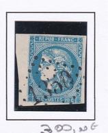 GC 1350 DRAP ( Dept 87 Alpes Maritimes ) S / N° 46B Indice Baudot S / L : 27 Soit 1850€ - 1849-1876: Periodo Classico