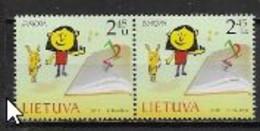 Lituanie 2010 N° 899/900 Neufs Europa Livres Pour Enfants - 2010